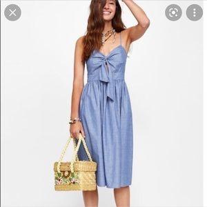 Zara Strappy Knotted Dress